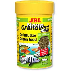 Hrana granule pentru erbivori JBL NovoGranoVert mini 100 ml Refill