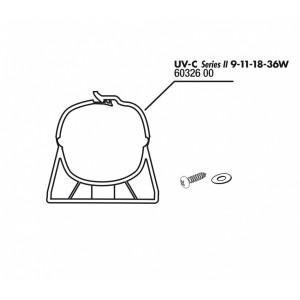 JBL Cleme+suruburi AquaCristal UV-C 9-36W