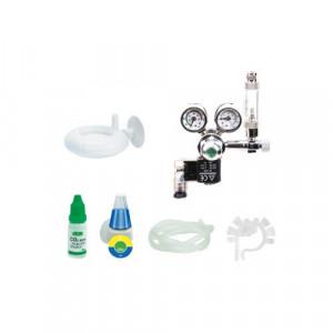 Set CO2 Premium Pack, controller CO2, 2 manometre, valva solenoid Germania, numarator bule, valva sens, dif
