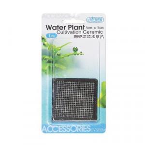 Suport ceramic cultivare plante - 6.5x6.5 cm