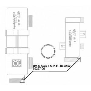 JBL Garnitura/O-Ring pentru Aqua Cristal UV-C 5-36 W