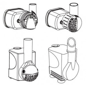 Pompa recirculare apa acvariu Centrifugal Pump 1000 EU - HYDOR