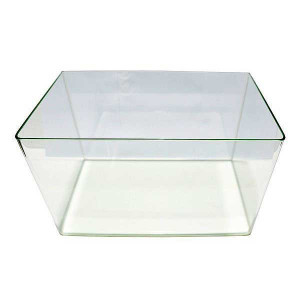 Acvariu sticla cu colturi rotunjite 37 litri