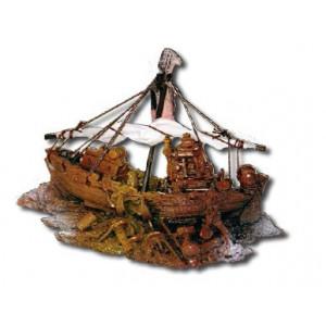 Decor acvariu epava nava pescuit - WAVE