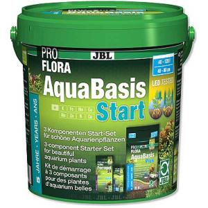 Fertilizant substrat JBL PROFLORA AquaBasis Start Set 3kg/50-100 l