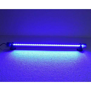Lampa submersibila 36 leduri iluminare acvariu / iaz 40 cm culoare albastra-DEE-T4 BLUE