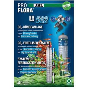 Sistem CO2 acvariu cu butelie 500 gr, JBL ProFlora u502, pt 600 L /include electrovalva