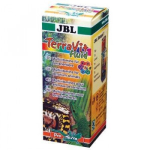 Vitamine reptile JBL TerraVit fluid 50 ml