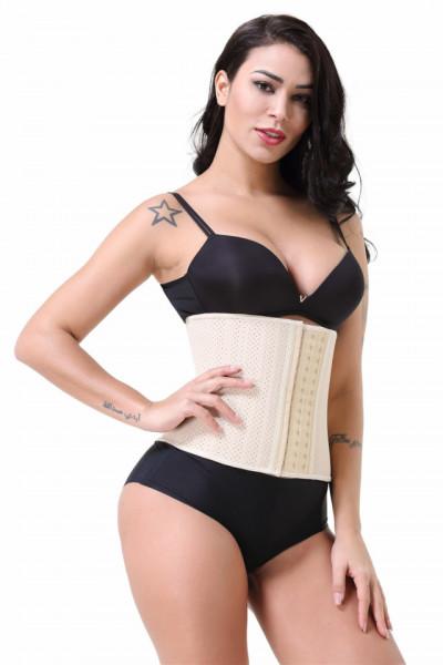 25 Atele Corset Breathable -- De VARA-- Nude 25 cm Inaltime