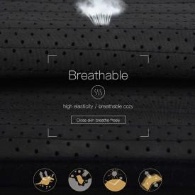25 Atele Corset Breathable -- De VARA-- Black 25 cm Inaltime