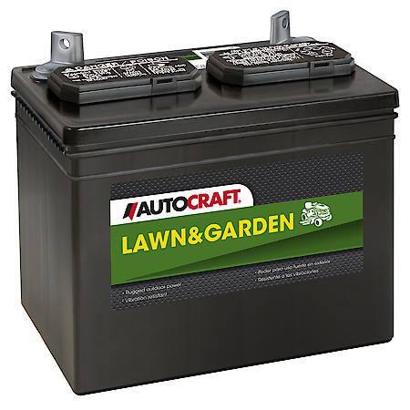Baterie tractoras de gazon