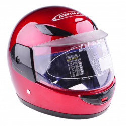 Casca moto copii Awina, Red Fire 47-48cm