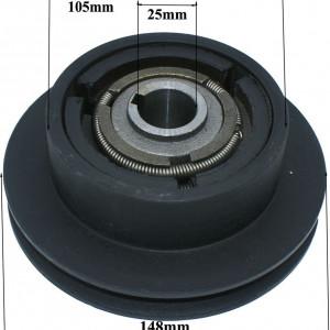Cuplaj centrifugal tractoras de tuns iarba