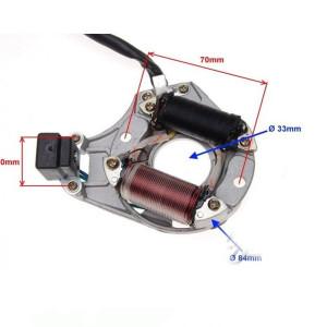Magnetou ATV 50cc - 110cc, 2 bobine - Wilmat