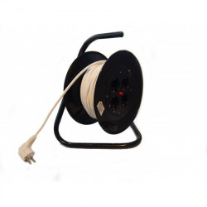 Prelungitor cu derulator (ruleta) 3x1.5mm, RELEE 43095 - 25m