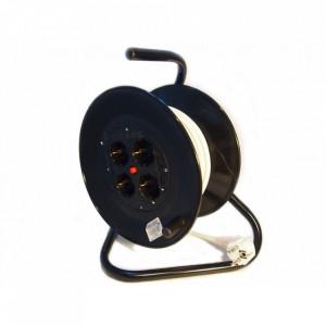 Prelungitor cu derulator (tambur) 3x2.5mm, RELEE 53339 - 50m