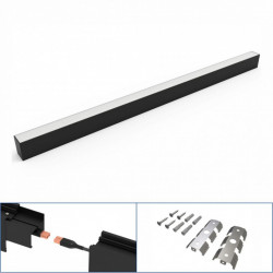 Corp led liniar interconectabil, 40W, 5000K, negru