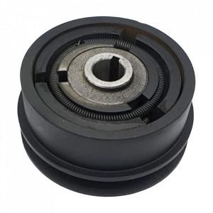 Ambreiaj centrifugal motoutilaje cu ax 19mm, fulie 115mm