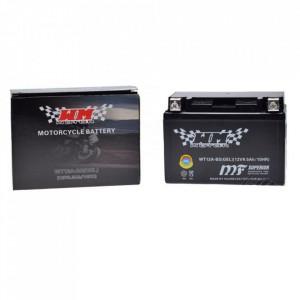 Baterie moto, scuter 10 amperi, 12V WT12A-BS cu gel