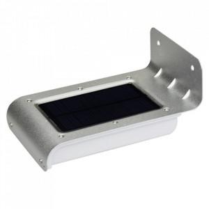 Lampa perete 0.55W cu panou solar si senzor miscare