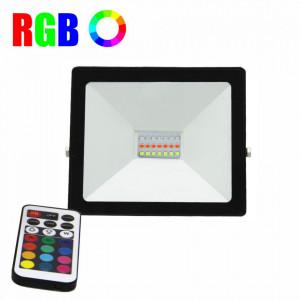 Proiector led RGB cu telecomanda, 16 culori, 20W