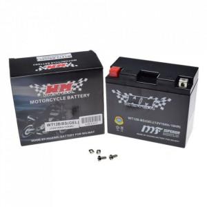 Baterie moto, scuter 10 amperi, 12V WT12B-BS cu gel