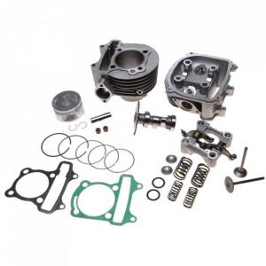 Set motor si chiuloasa completa ATV 150cc 57.4mm 4T
