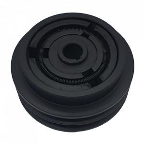 Ambreiaj centrifugal motoutilaje cu ax 19mm, fulie dubla