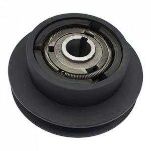 Ambreiaj centrifugal motoutilaje cu ax 25mm, fulie 148mm