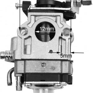 Carburator motocoase chinezesti 43cc 52cc, 12mm - GP