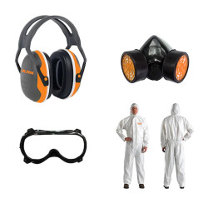 Echipament de protectie atomizor - Set