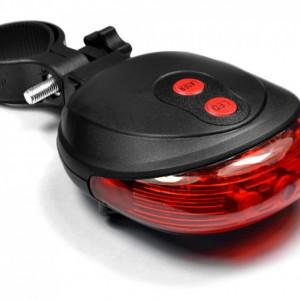 Licurici bicicleta laser si led
