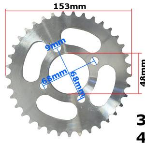 Pinion spate ATV 110cc, 420-37T