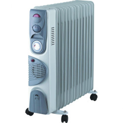 Calorifer electric 13 elementi Blade, 2900W (ventilator, termostat, timer) functie TURBO