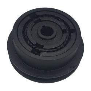 Ambreiaj centrifugal motoutilaje cu ax 19mm, fulie 128mm