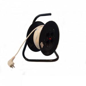 Prelungitor cu derulator (tambur) 3x1.5mm, RELEE 44153, 20m