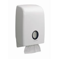 Poze Dispenser Aquarius alb pentru prosoape interfold, KC-6945