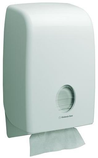 Poze Dispenser Aquarius alb pentru prosoape pliate, KC-6954
