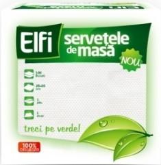 ELFI SERVETELE MASA 25X25 100BUC