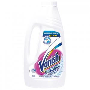 Solutie pentru indepartarea petelor Vanish White, 1l