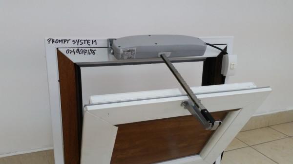 Automatizare cu lant pentru fereastra