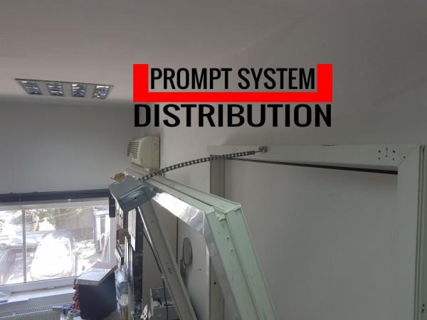 Motor desfumare TOPP ACK4 RWA automatizare cu lant pentru ferestre