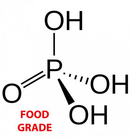 Acid fosforic 85%, food grade - canistră 35 kg