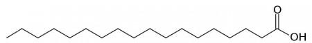 Stearic acid, cosmetic grade - 25 kg bag