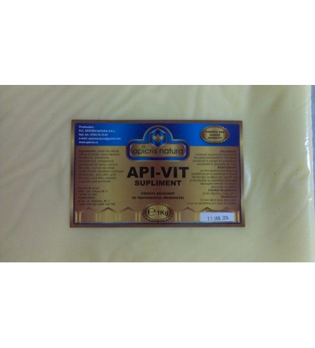 Turta apivit suplimnet cu vitamine si minerale -1 kg