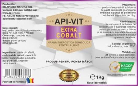 Turta Apivit Extra Cobalt - punga 1 kg