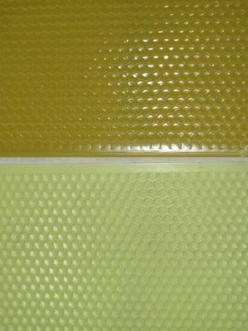 Faguri din plastic - 3/4 - galbeni