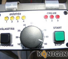 Centrifuga reversibila Konigin 6 casete, electrica 12V