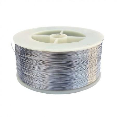 Sarma inox alimentar 304 - bobina 1 kg diametru 0.5 mm