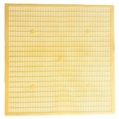 Gratie hanneman, plastic alimentar, 12 rame, 50x50cm -galbena